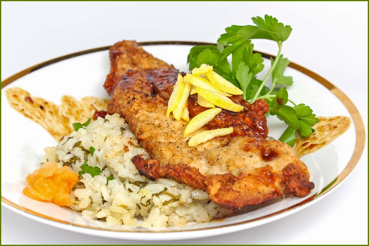 Herb Scott Catering | Chicken and Rice