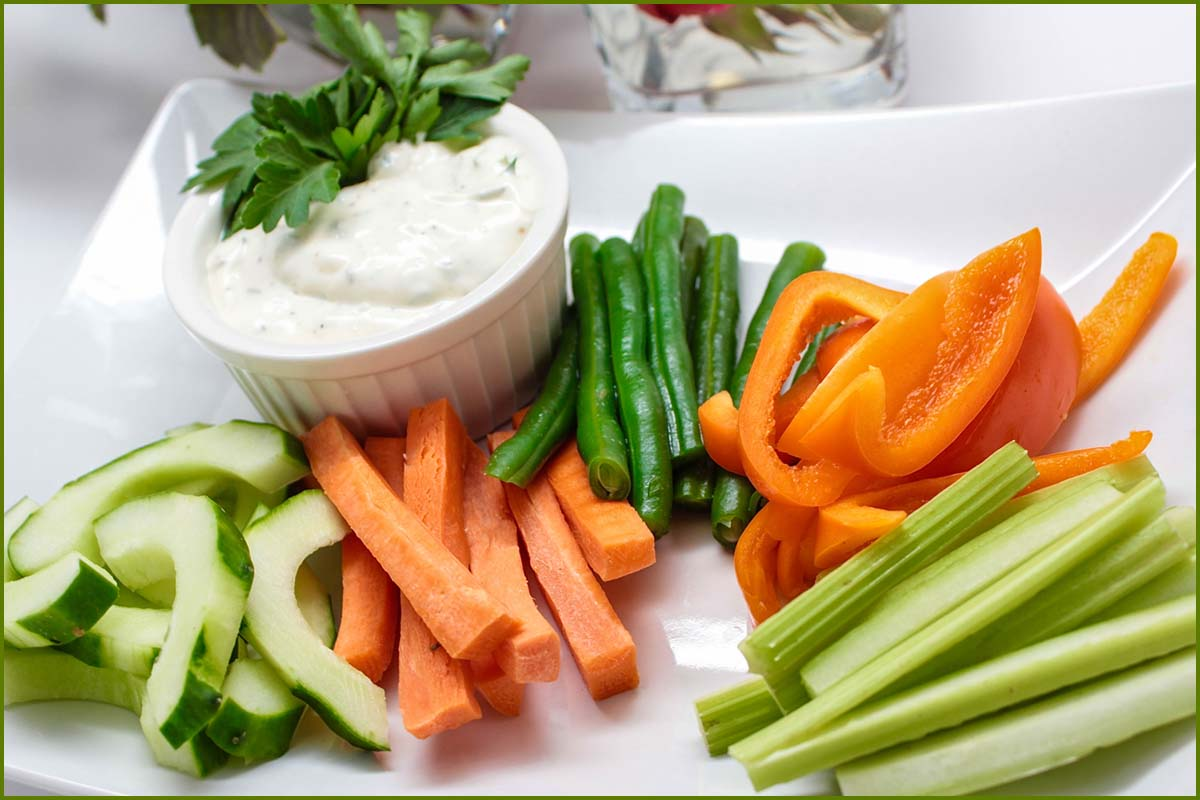 Herb Scott Catering | Cuisine | Veggie Sticks